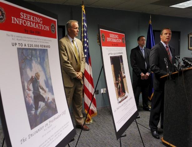 Agente Especial do FBI, Vincent Lis concede entrevista coletiva em Boston - Brian Snyder/Reuters