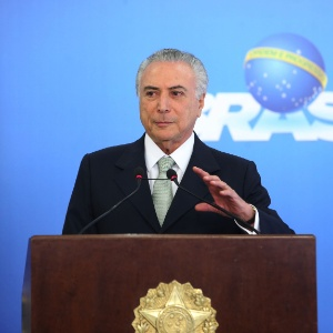 16.jun.2016 - O presidente interino, Michel Temer (PMDB)