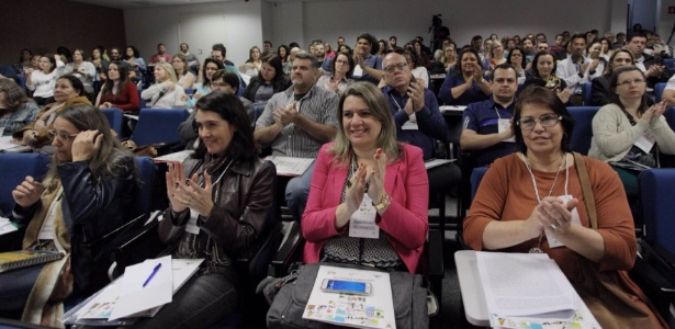 Nesta quarta e quinta, educadores de São Paulo discutem e analisam a segunda versão da Base Nacional Comum Curricular para encaminhar suas sugestões de alteração - Diogo Moreira/A2/img/Divulgação