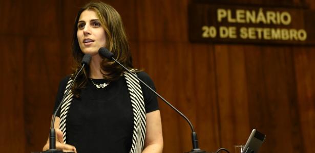 A deputada estadual Manuela D'Ávila (PCdoB-RS)