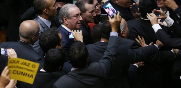 Eduardo Cunha teve seu mandato de deputado cassado em 12 de setembro de 2016
