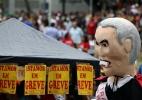 Imagens da greve geral pelo Brasil - Paulo Whitaker/Reuters
