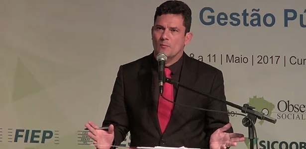 Juiz Sergio Moro em evento em Curitiba