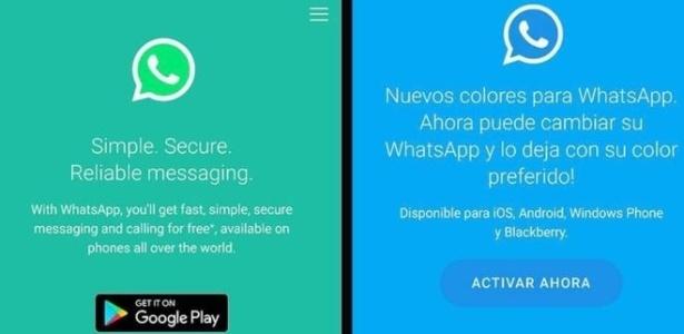 Este novo golpe promete trocar as cores do WhatsApp, mas o objetivo é outro: encher seu celular de anúncios publicitários e acessar dados pessoais