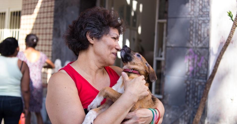 A pensão de Maria das Graças fica na rua Dino Bueno, na Luz, região central de SP