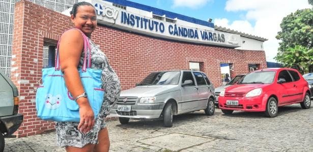 Luciana da Silva há dois meses percorre 50 km para fazer pré-natal em João Pessoa