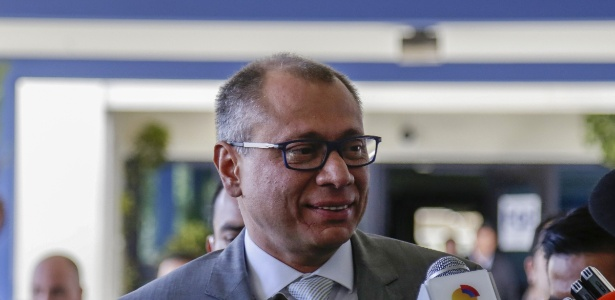 O vice-presidente do Equador, Jorge Blas