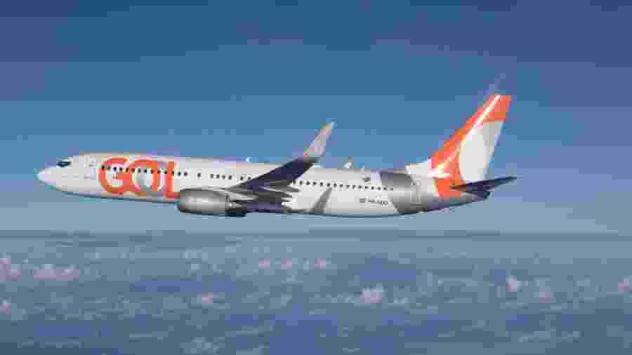 Avião da Boeing usado pela Gol - Divulgação