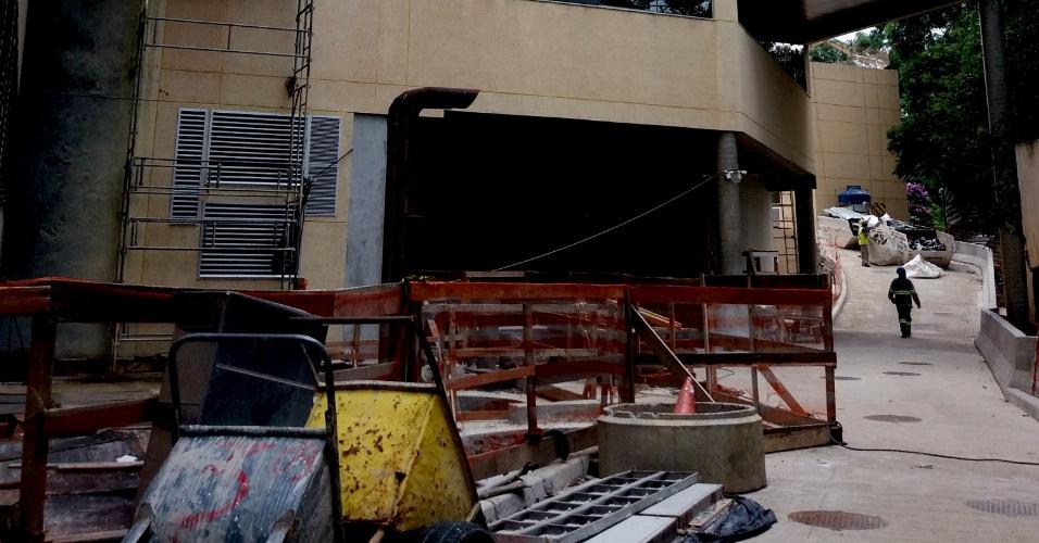O novo prédio segue em construção; previsão do Instituto é que ele seja entregue no segundo semestre de 2019