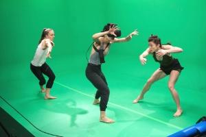 Google faz parceria para criar laboratório para experimentos de dança (Foto: Ramsay de Give/The New York Times)