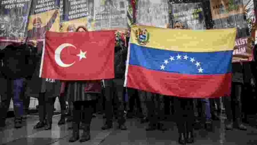 A questão venezuelana ultrapassa as fronteiras do continente americano - Getty Images