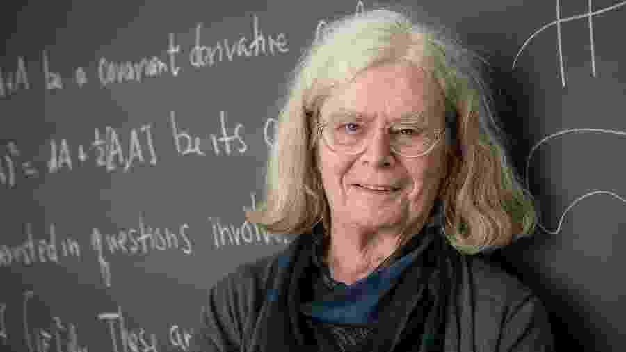 A matemática Karen Uhlenbeck - Andrea KaneNorwegian Academy of Science and Letters/AFP