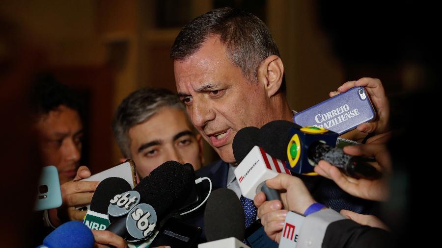 31.mar.2019 - Declaração à imprensa do Porta-voz da Presidência da República, Otávio Rêgo Barros, em Jerusalém (Israel) - Alan Santos/PR