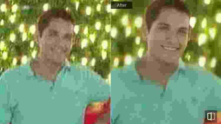 Remini antes depois 2 - Reprodução - Reprodução