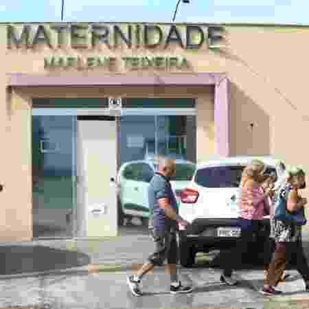Fachada da Maternidade Marlene Teixeira, onde morreu o bebê recém-nascido, após problemas respiratórios - Fábio Lima