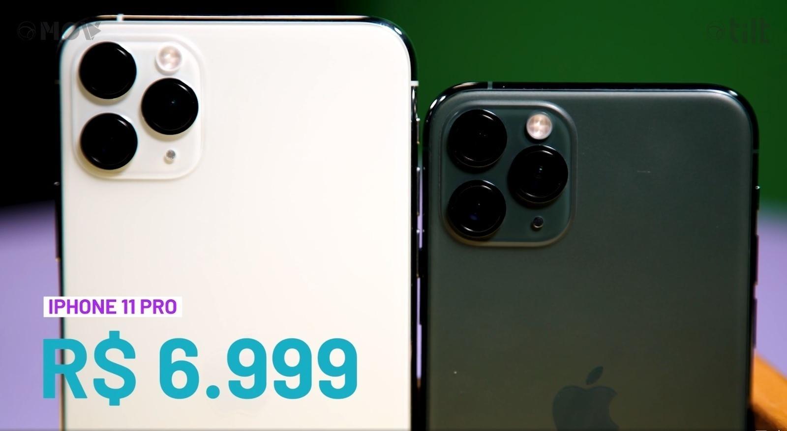 Iphone 11 Pro Bateria Para Mais De Um Dia E Tamanho Perfeito 20 11 2019 Uol Tilt