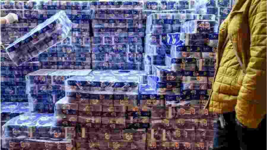 Hong Kong vive escassez de papel higiênico - Getty Images