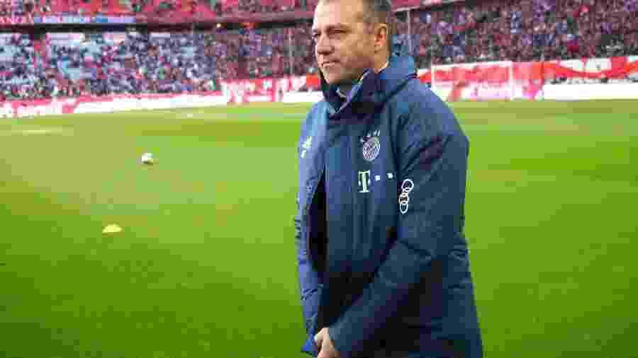 Técnico do Bayern de Munique, Hansi Flick, evita polêmica com Messi - MICHAEL DALDER