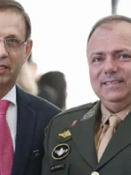 Carlos Wizard e general Pazuello - Marcos Correia/Divulgação