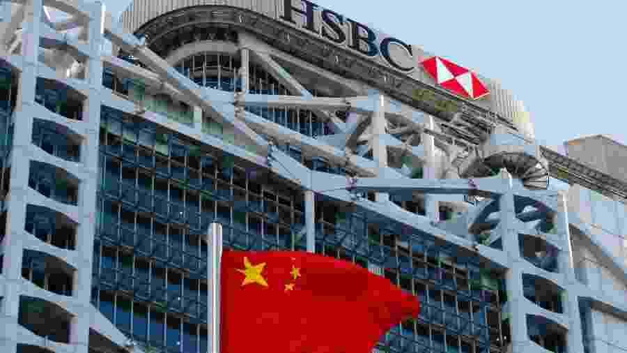 Sede do HSBC, em Hong Kong; banco enfrenta suspeita de permitir transferência de dinheiro de fraudadores ao redor do mundo -
