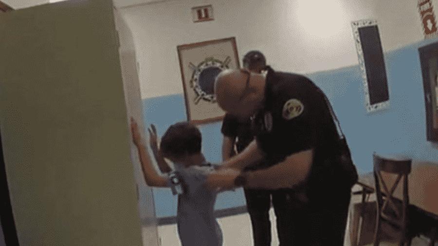 Ação da polícia da cidade de Key West, na Flórida - Reprodução