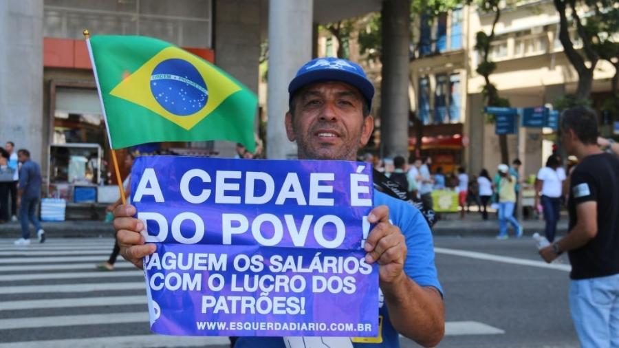 As tentativas de privatização da Ceade já foram alvo de protestos diversas vezes no Rio de Janeiro - NurPhoto/NurPhoto via Getty Images