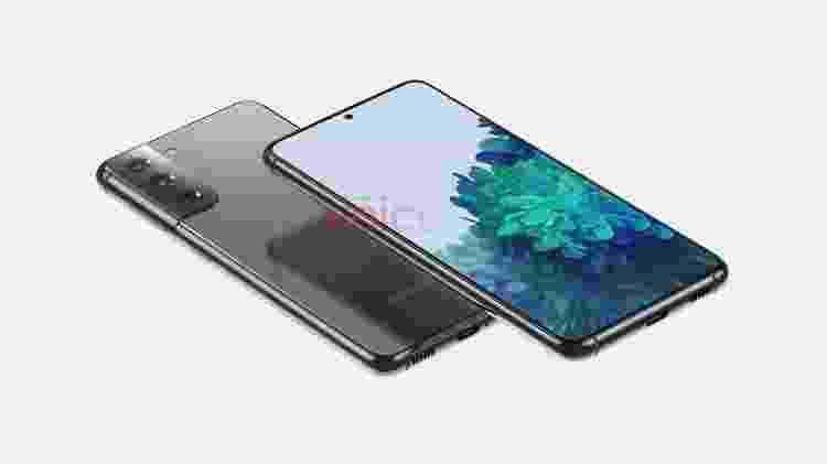Supostas imagens mostram como é o Galaxy S21 (ou Galaxy 30) - Reprodução/onleaks - Reprodução/onleaks