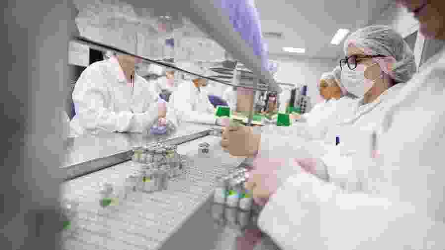Laboratório do Instituto Butantan, em São Paulo - Divulgação/Governo do Estado de São Paulo