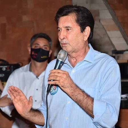 Maguito Vilela (MDB), candidato à prefeitura de Goiânia (GO) nas eleições 2020, está em tratamento contra covid-19 - Reprodução/Facebook