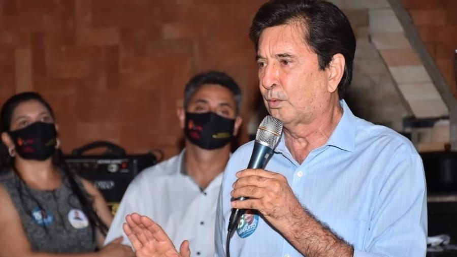 Maguito Vilela durante as eleições 2020; político morreu aos 71 anos, após longa internação por covid-19 - Reprodução/Facebook