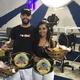 Michel Vitor e Larissa Silva, os campeões da Batalha dos Barbeiros em 2020 - Lola Ferreira / UOL