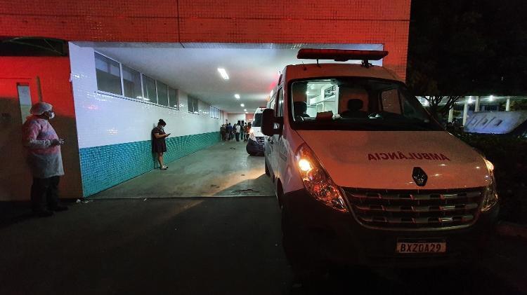 Manaus: Média de óbitos cresceu 217% em relação a duas semanas atrás - Carlos Madeiro/UOL - Carlos Madeiro/UOL