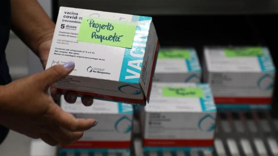 Secretaria Municipal de Saúde vacina neste domingo (20/06) contra covid-19 toda população em idade elegível da Ilha de Paquetá  - Fabio Motta / Prefeitura do Rio