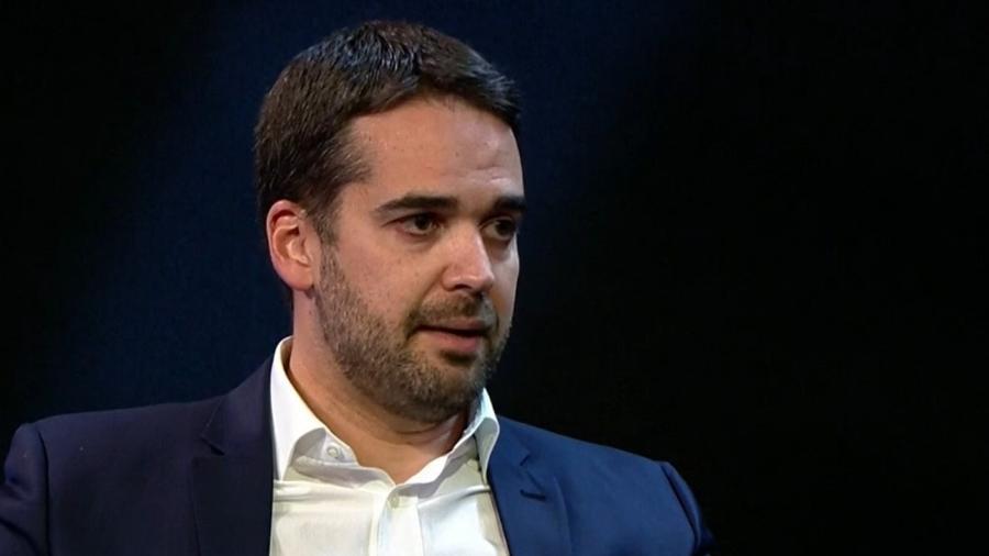 """Eduardo Leite em entrevista para Roderto D""""Ávila na GloboNews - Reprodução / GloboNews"""