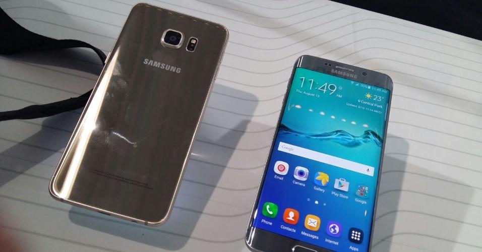 O Galaxy S6 Edge+ (foto) e o Note 5 têm 4GB de memória RAM, a mais potente e com maior poder de processamento do mercado, segundo a Samsung. Com isso, o usuário poderá fazer mais atividades ao mesmo tempo, como mandar mensagens e postar nas redes sociais de maneira mais rápida, e ainda rodar jogos com gráficos pesados sem travar