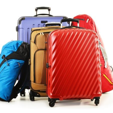 Bagagem, malas de viagem, mala, bolsa - Getty Images