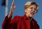 """Chamada de """"Pocahontas"""" por Trump, senadora democrata se firma como sua maior opositora - Justin Sullivan/Getty Images/AFP"""