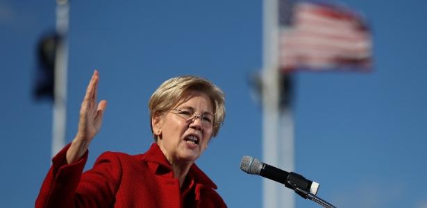 Elizabeth Warren, senadora democrata pelo Estado de Massachussetts