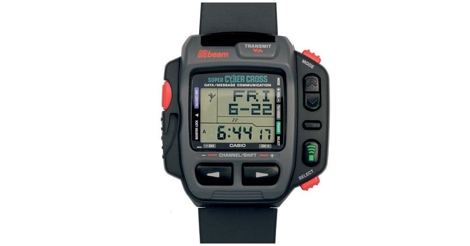 Relógio Super Cibernético Cruz JG-200 da Casio (1980). Esse é um dos objetos extintos que integram a enciclopédia virtual criada pela startup russa Thngs para eternizar tecnologias do passado