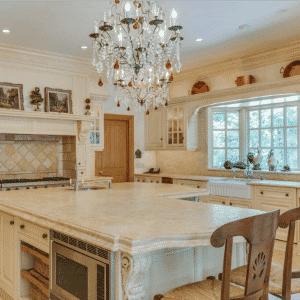 Cozinha da luxuosa mansão - Divulgação