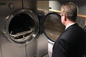 Nada de cremação ou enterro: opção por dissolver corpo após a morte ganha adeptos (Foto: BBC)
