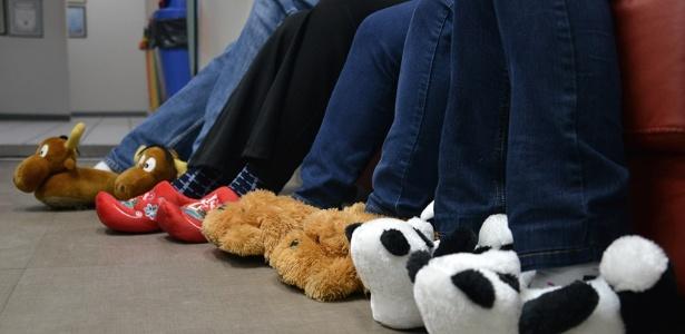 Funcionários de empresa de Blumenau podem usar pantufas no inverno