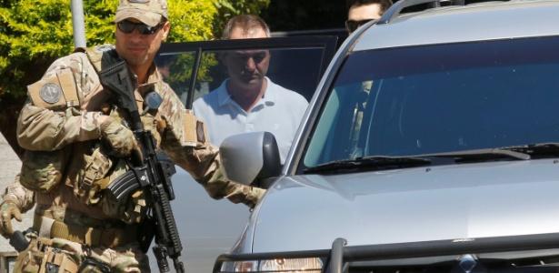 Joesley foi levado para Brasília, onde vai cumprir prisão temporária