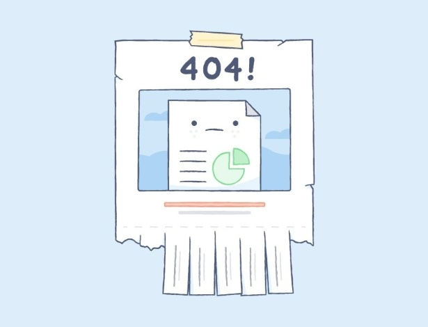 Você me viu? Dropbox é apenas um de vários sites com mensagens de erro criativas - Reprodução/Zach Graham