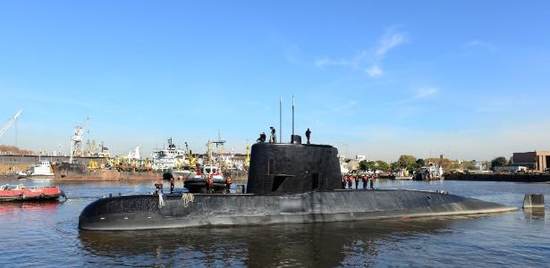 Submarino argentino desaparecido há um ano é localizado