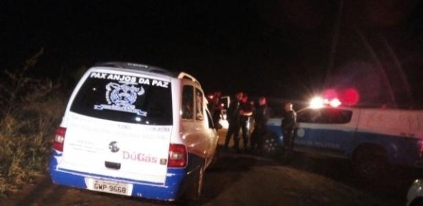 7 de outubro de 2017: Policiais encontram corpo de vítima do PCC em Campo Grande