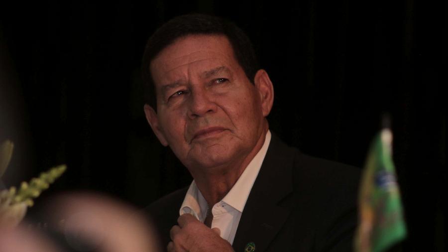 """""""A questão da Venezuela tem que ser resolvida pelos venezuelanos"""", disse Mourão à AFP - Fepesil/Futura Press/Estadão Conteúdo"""