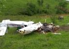 Queda de avião monomotor em Patos de Minas deixa cinco mortos - Divulgação/Corpo de Bombeiros (MG)