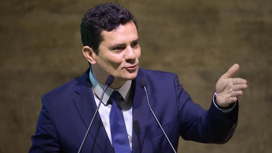 O ex-juiz federal Sergio Moro - ERBS JR./FRAMEPHOTO/FRAMEPHOTO/ESTADÃO CONTEÚDO