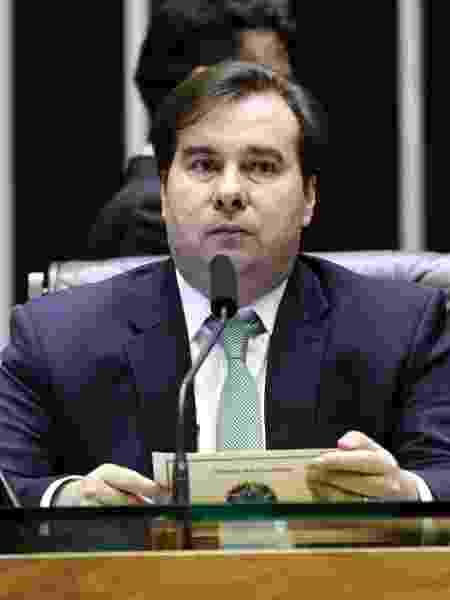 O presidente da Câmara dos Deputados, Rodrigo Maia (DEM-RJ) - Michel Jesus/ Câmara dos Deputados